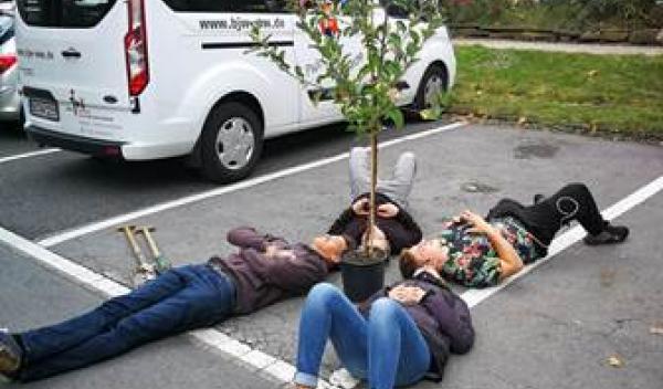 Baumpflanzaktion 3. Oktober